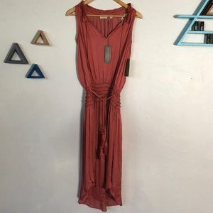 Eva Mendes Gypsy Soul Style Dress  in Terra Cotta